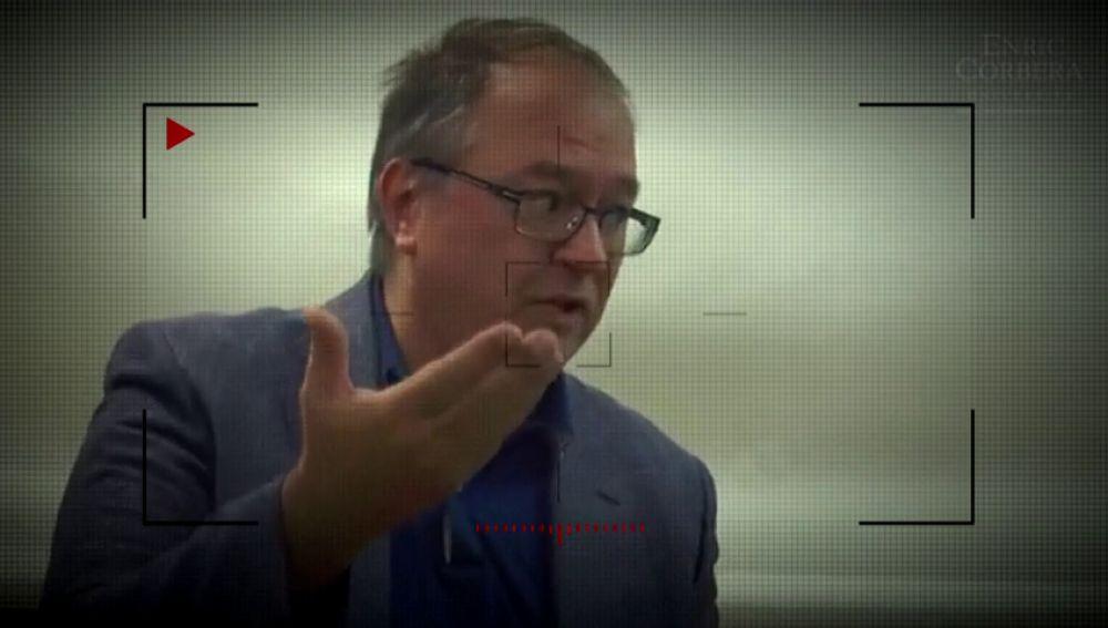 Enric Corbera, en un vídeo eliminado de su página web