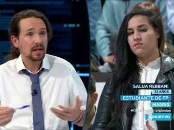 Pablo Iglesias en El Objetivo