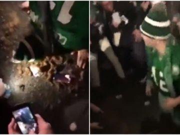 Salvaje celebración en Filadelfia tras la victoria de los Eagles