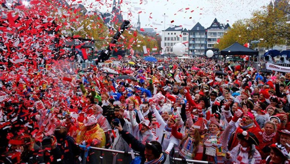 La 'Fastnachumzug' de Eppingen, una de las grandes celebraciones del Carnaval alemán