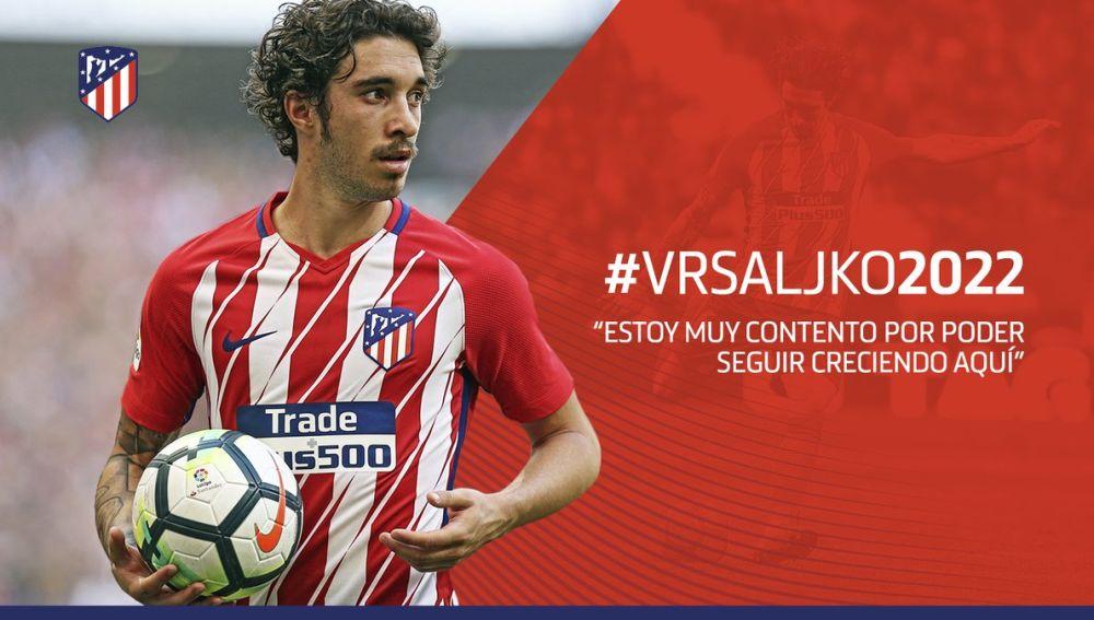 d524ab94e5494 Sime Vrsaljko renueva una temporada más con el Atlético