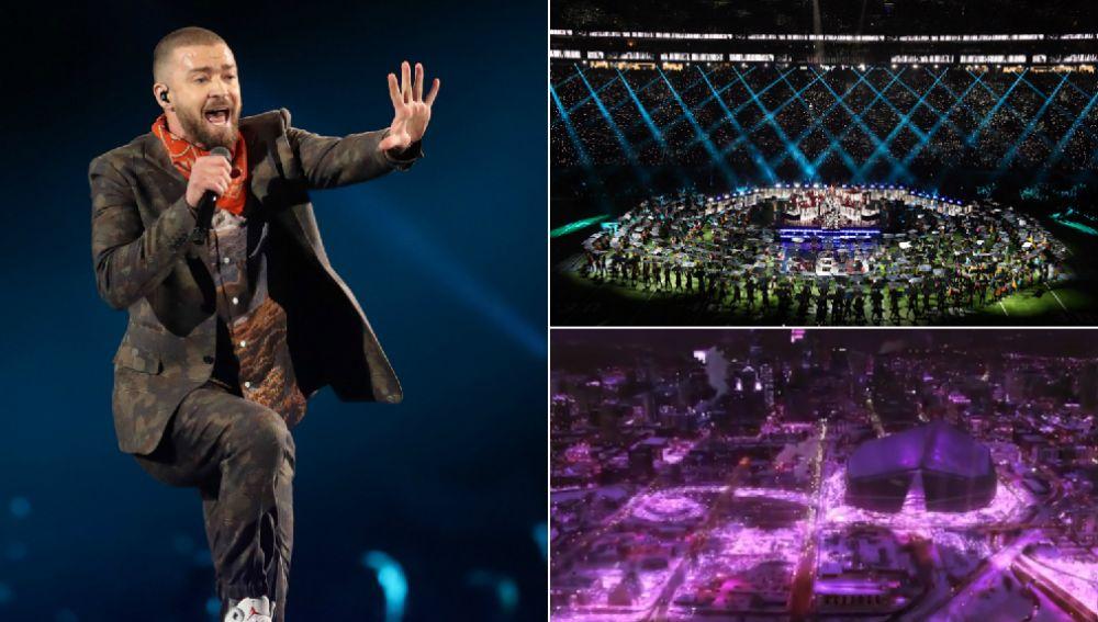 Espectacular actuación de Prince