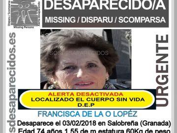 Localizan el cuerpo de Francisca De la O López en un acantilado