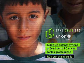 Iniciativa de UNICEF para ayudar a los niños sirios a través de la minería de Ethereum