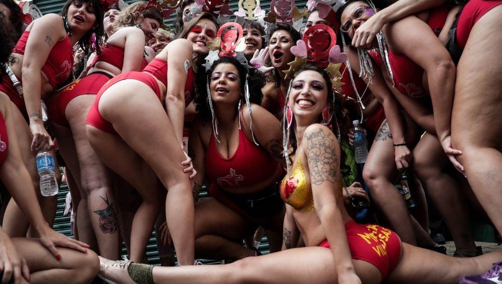 No Es No Las Mujeres Dicen Basta Al Acoso Sexual En El Carnaval De Brasil