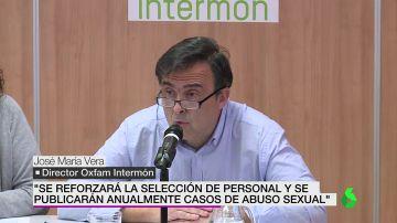 José María Vera, director de Oxfam Intermon