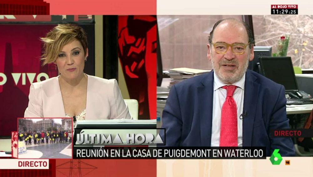 """Las claves de Jordi Casas para arreglar la situación catalana: """"Todo depende de Puigdemont, o de que le abandonen"""""""