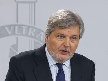 Íñigo Méndez de Vigo, portavoz del Gobierno y ministro de Educación