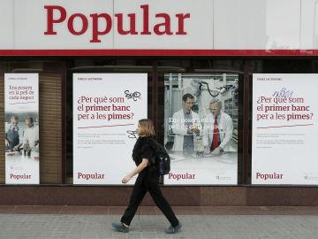 El Banco Popular perdió 13.595 millones en 2017