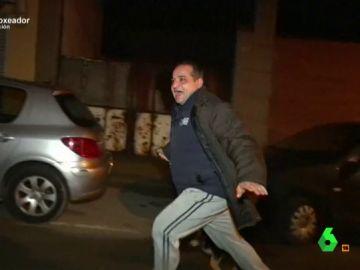 Froilán, el detective, huye ante las cámaras de Equipo de Investigación