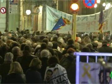 Marcha por la liberación de Sànchez y Cuixart