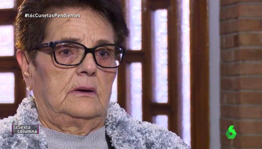 Enriqueta, hija de una víctima del franquismo