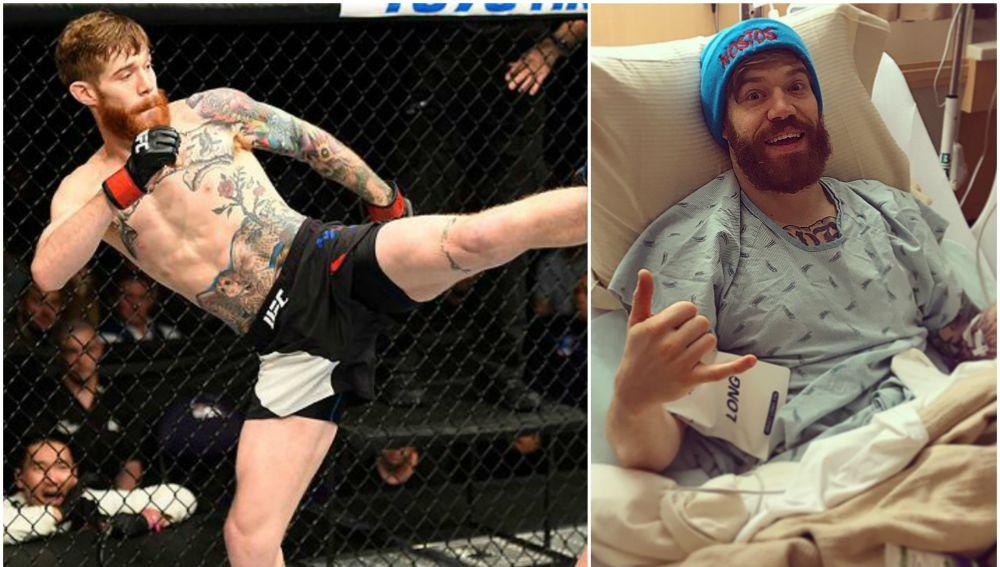 Devin Powell sufre una grave lesión durante un entrenamiento