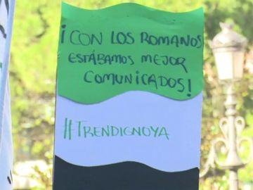 Los vecinos de Extremadura claman de nuevo en las calles por un tren digno: llevan 18 años esperando la alta velocidad