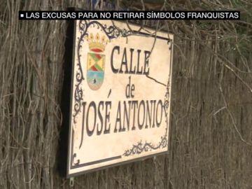 La calle José Antonio de un municipio