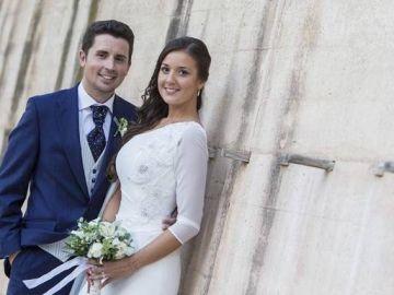 'Maje' con su marido Antonio