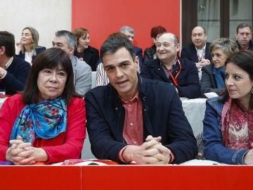 Pedro Sánchez, en el Comité Federal del PSOE