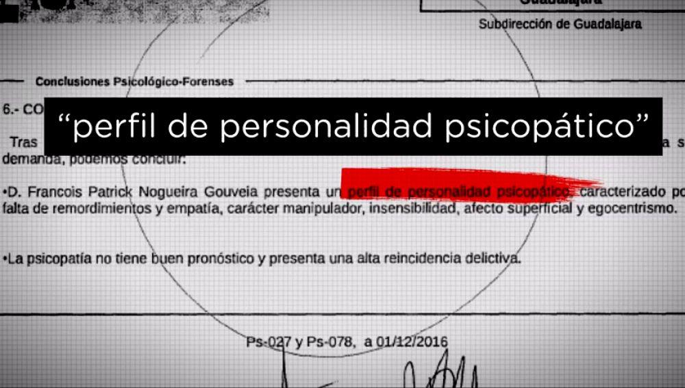 Manipulador, egoísta, egocéntrico y sin empatía: el perfil psicológico de Patrick Nogueira, el asesino de Pioz