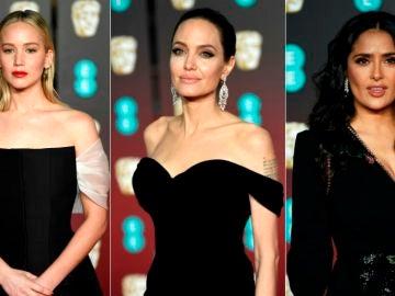 Jennifer Lawrence, Angelina Jolie y Salma Hayek