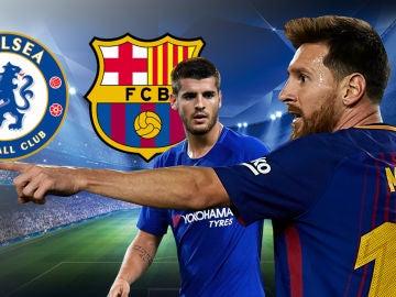 Chelsea - Barcelona, duelo en Antena 3 y Atresplayer