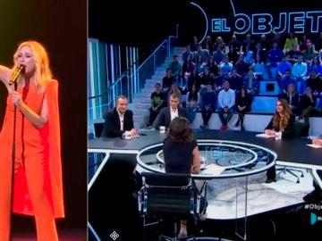 Toni Cantó, Rafael Simancas, Noelia Vera y Francisco Martínez hablan sobre el himno de Marta Sánchez en El Objetivo