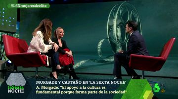 Cristina Castaño y Ana Morgade en laSexta Noche