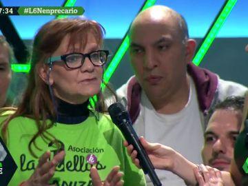 Ángela Muñoz, representante de 'Las Kellys'