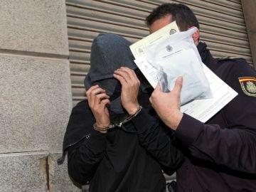 Jugador detenido tras declarar en la jefatura de la policía nacional de Murcia