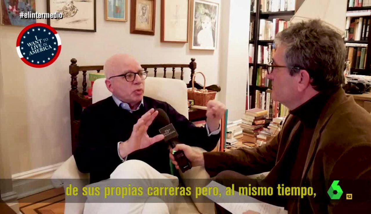 Michael Wolff con Guillermo Fesser