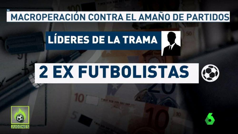 LA SEXTA TV | Así funcionaba la trama de amaño de partidos de fútbol ...