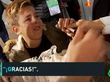 De la desesperación a la alegría: la odisea de un niño para conseguir la firma de Cristiano Ronaldo en el Villamarín