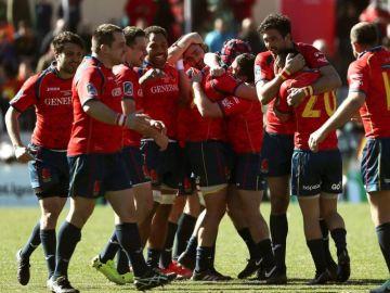 La selección española de Rugby.