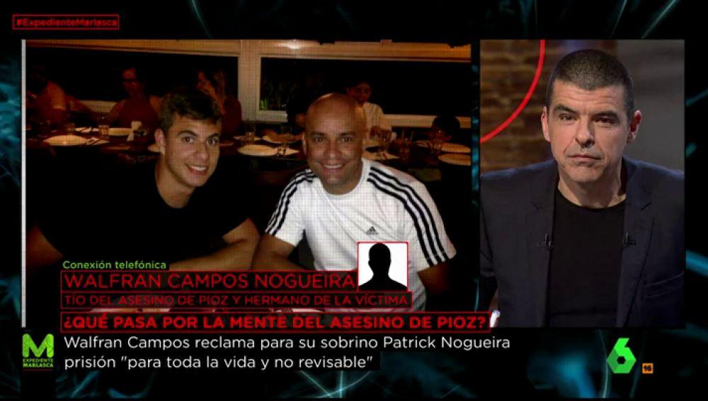 Manu Marlasca entrevista al tío de Patrick Nogueira