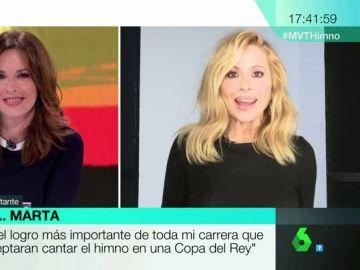 Marta Sánchez, en Más Vale Tarde
