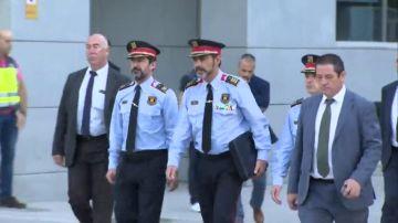 La juez Lamela cita a Trapero el viernes como investigado por sedición por el 1-O