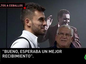 """Ceballos esperaba """"un mejor recibimiento"""" de la afición del Betis en el Villamarín"""