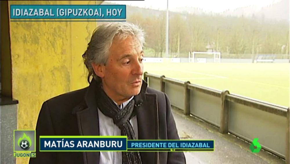 Denunciado por amenazar a jugadores por hablar en euskera