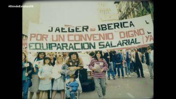 Reivindicaciones femeninas en 1988