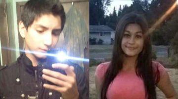 Brian Roberto Varela y su víctima Alyssa Mae Noceda