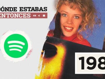 Lista reproducible Spotify 1988 Dónde estabas entonces