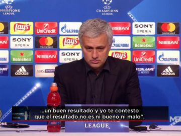 """Mourinho: """"El resultado refleja lo que ha pasado en el partido"""""""