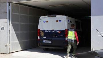 Un furgón policial en una imagen de archivo