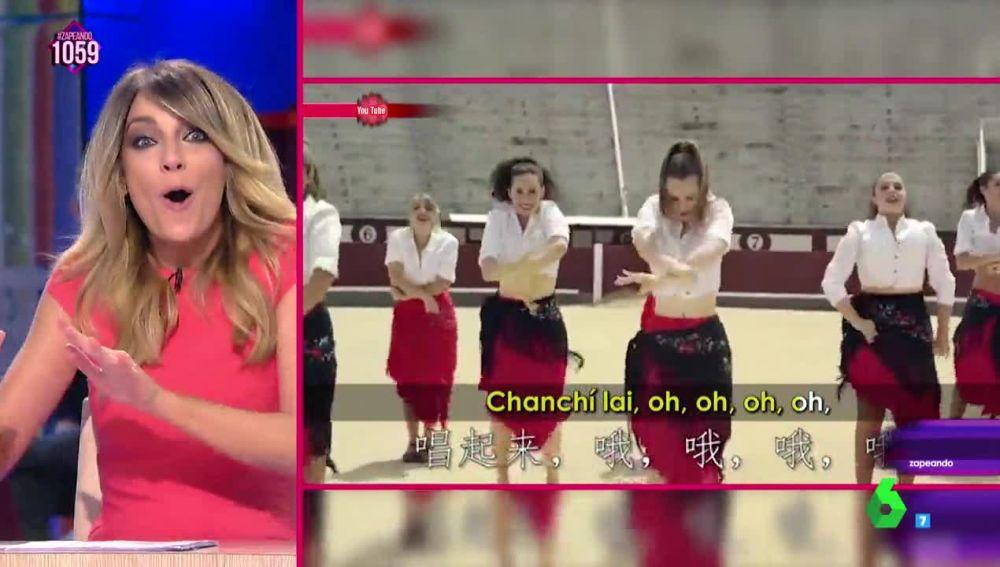 El sorprendente 'Volare' de Anna Simon cantado en chino mandarín