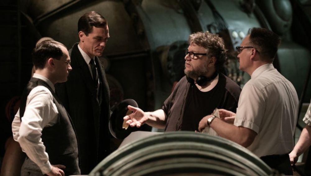 Guillermo del Toro en el rodaje de 'La forma del agua'