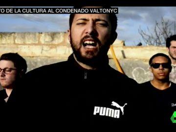Apoyo unánime del mundo de la cultura al rapero condenado Valtonyc
