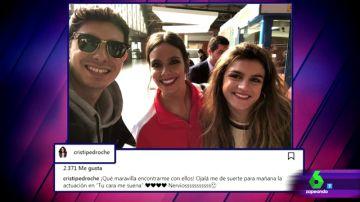 Alfred, Cristina Pedroche y Amaia