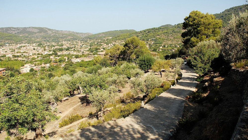 Imagen de archivo de un camino en Mallorca
