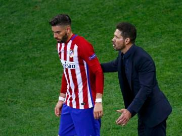 Carrasco y el 'Cholo' Simeone