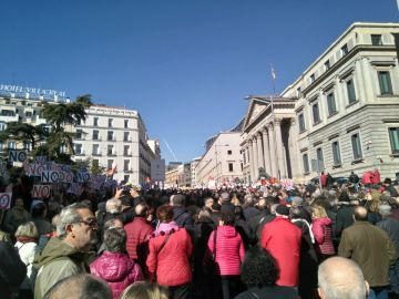 Manifestaciones en todas las capitales para defender unas pensiones dignas