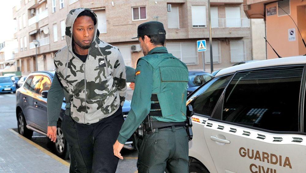 Rubén Semedo, a su llegada al juzgado